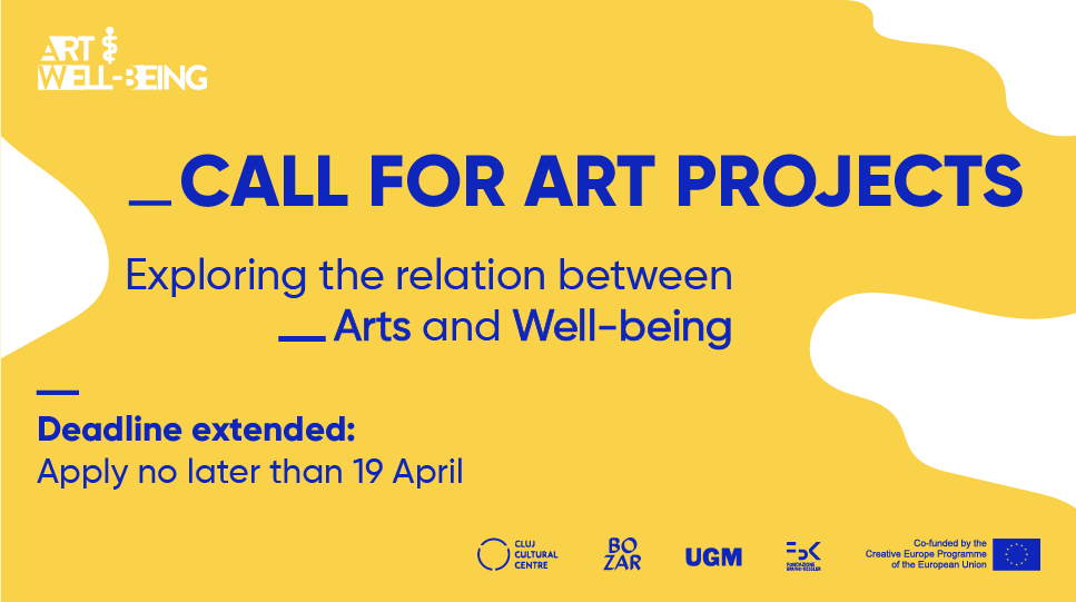Call for art projects dedicated to artists and collectives